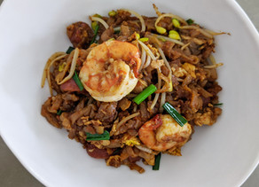 Hawker-Style Char Kway Teow (Fried Flat Noodles)