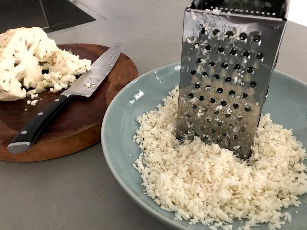 Alycooks - Coriander Lime Cauliflower Rice