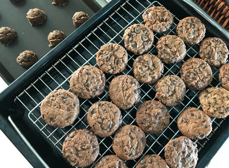 The Crispiest Chocolate Chip Cookies