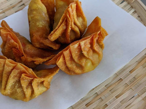 Homemade Fried Wonton Dumplings