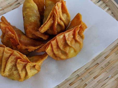 Homemade Fried Wonton Dumplings