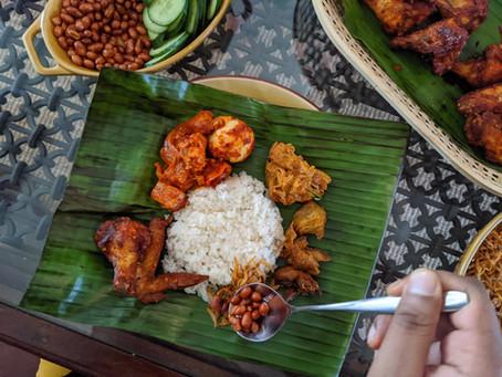 Homemade Nasi Lemak (Coconut Rice)