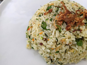 Nasi Ulam (Malay Fresh Herb Rice Salad)