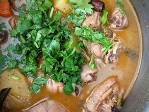 Indian Style Chicken Soup (Rassam Chicken Soup)