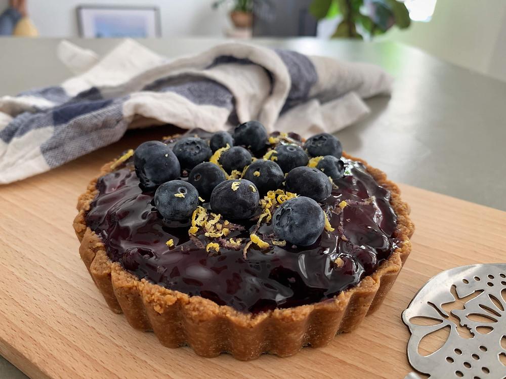 Alycooks No Bake Blueberry Cheesecake