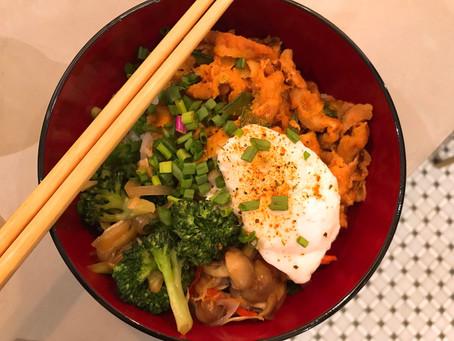 Japanese Beef Gyudon (Beef & Rice Bowl)