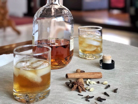 Aromatic Infused Gin with Clove & Cinammon
