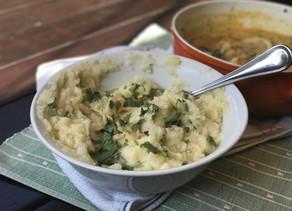 Cheesy Garlic Mashed Potatoes