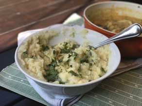 Cheesy Garlic Mashed Potatoes