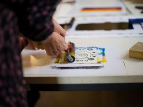 Grafické workshopy na festivalu LITR