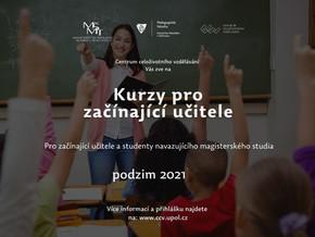Centrum celoživotního vzdělávání připravilo adaptační kurzy pro začínající učitele