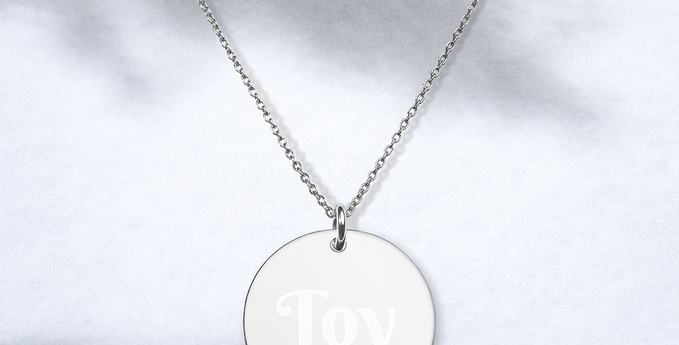 Toy Disc Necklace