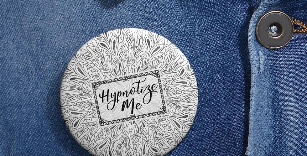 Hypnotize Me Button (White)