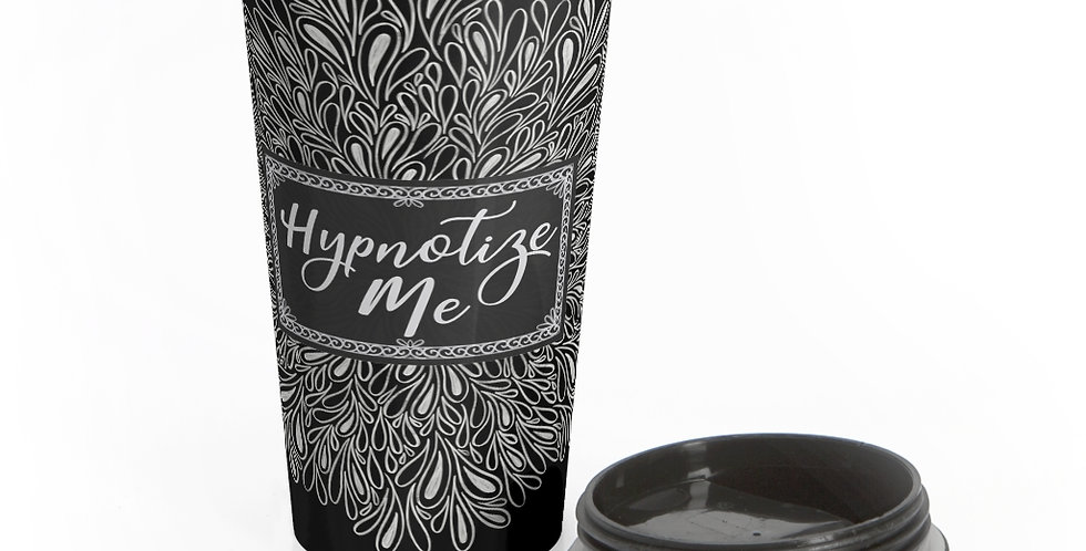 Hypnotize Me Travel Mug (Black)