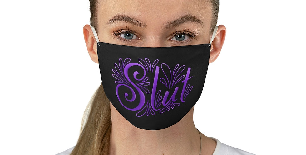 Slut Face Mask