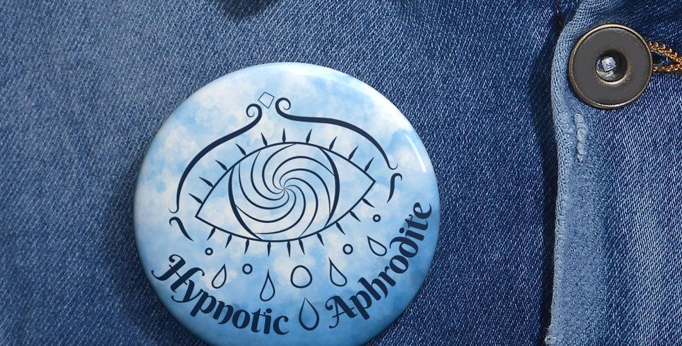 Hypnotic Aphrodite Button (Sky Blue)