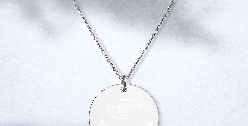 Hypno Slut Disc Necklace