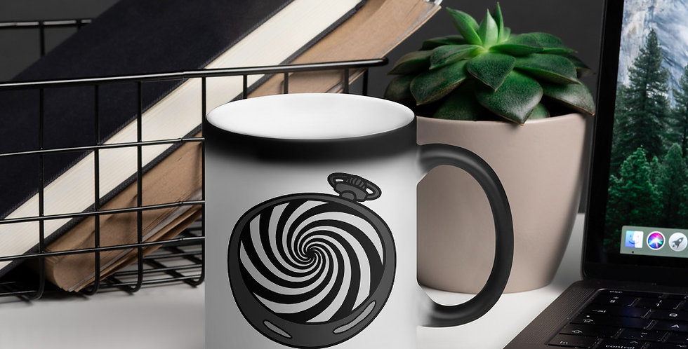 Pocketwatch Spiral Magic Mug