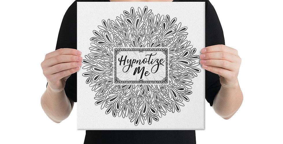 Hypnotize Me (White) Canvas