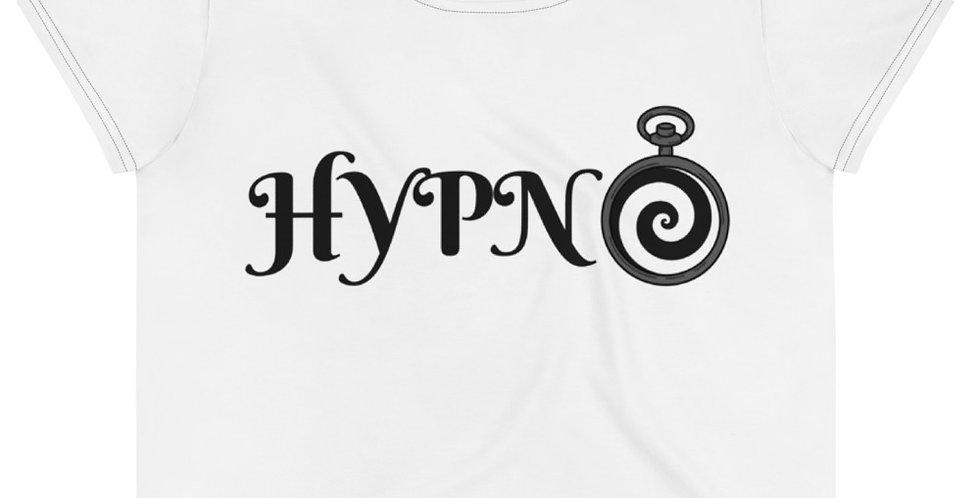 Hypno Crop Tee (White)