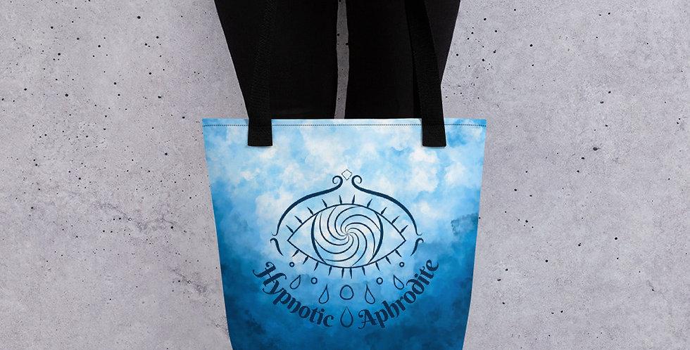 Hypnotic Aphrodite Tote Bag (Sky Blue)