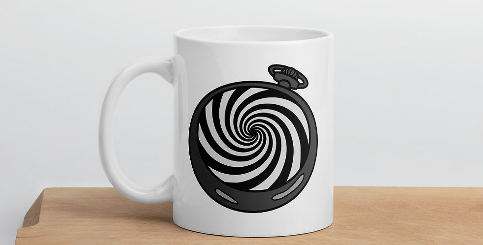 Pocketwatch Spiral Mug