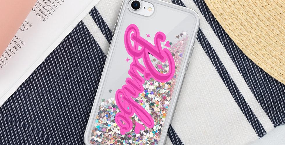 Bimbo Glitter Phone Case