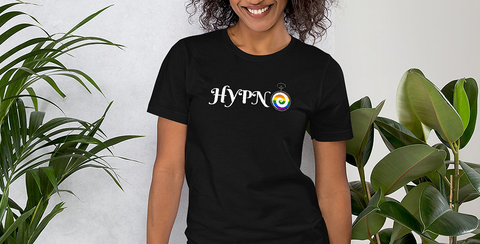 Hypno Pride Unisex T-Shirt (White Text)