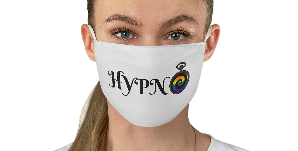 Hypno Pride Face Mask (White)