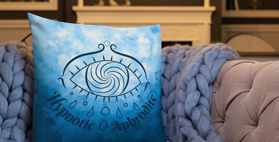 Hypnotic Aphrodite Pillow (Sky Blue)