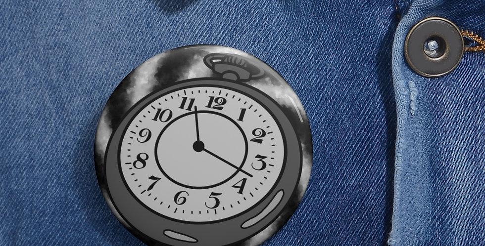 Pocketwatch Spiral Button