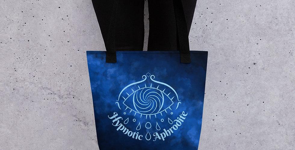Hypnotic Aphrodite Tote Bag (Deep Blue)