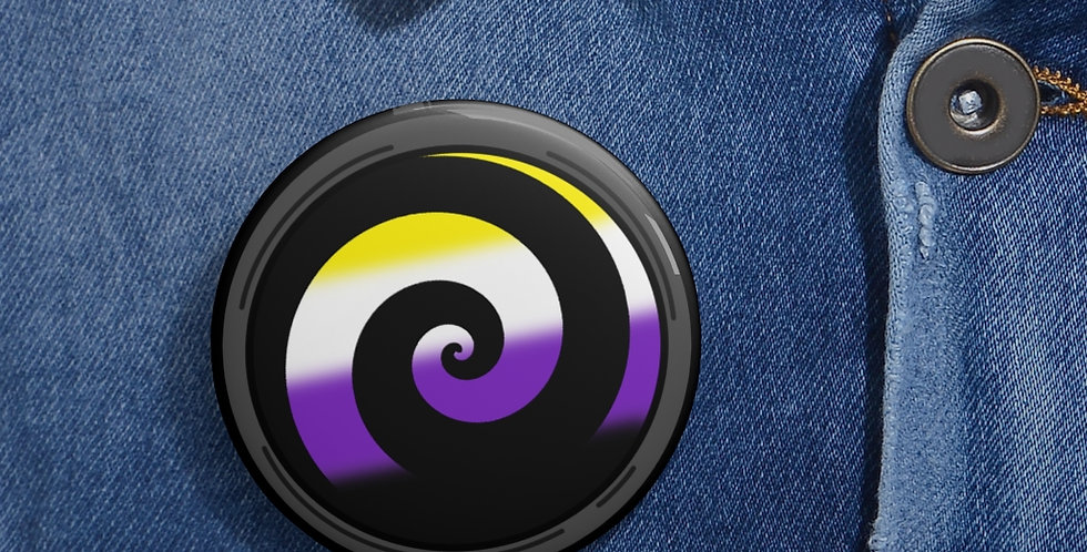 Nonbinary Hypno Button
