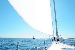 saling in Marbella coastal area is fun and luxurious
