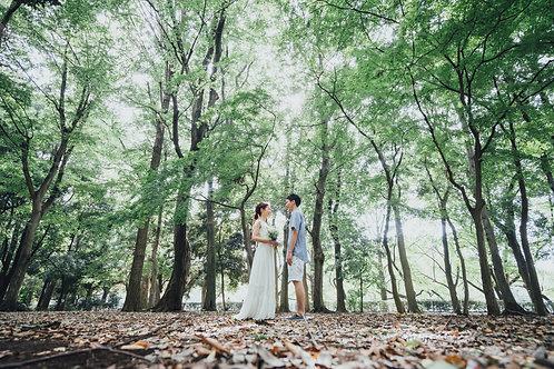 Wedding photo plan シンプルプラン