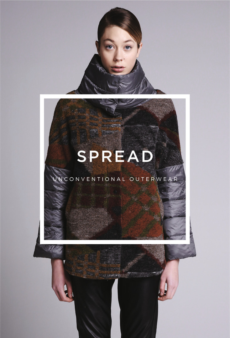 Spread unconventional outerwear AW17/18