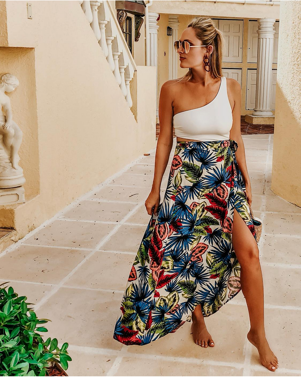 L Space wrap skirt