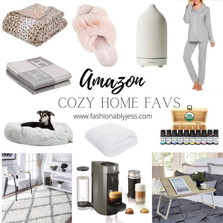 COZY AT HOME AMAZON FAVORITES