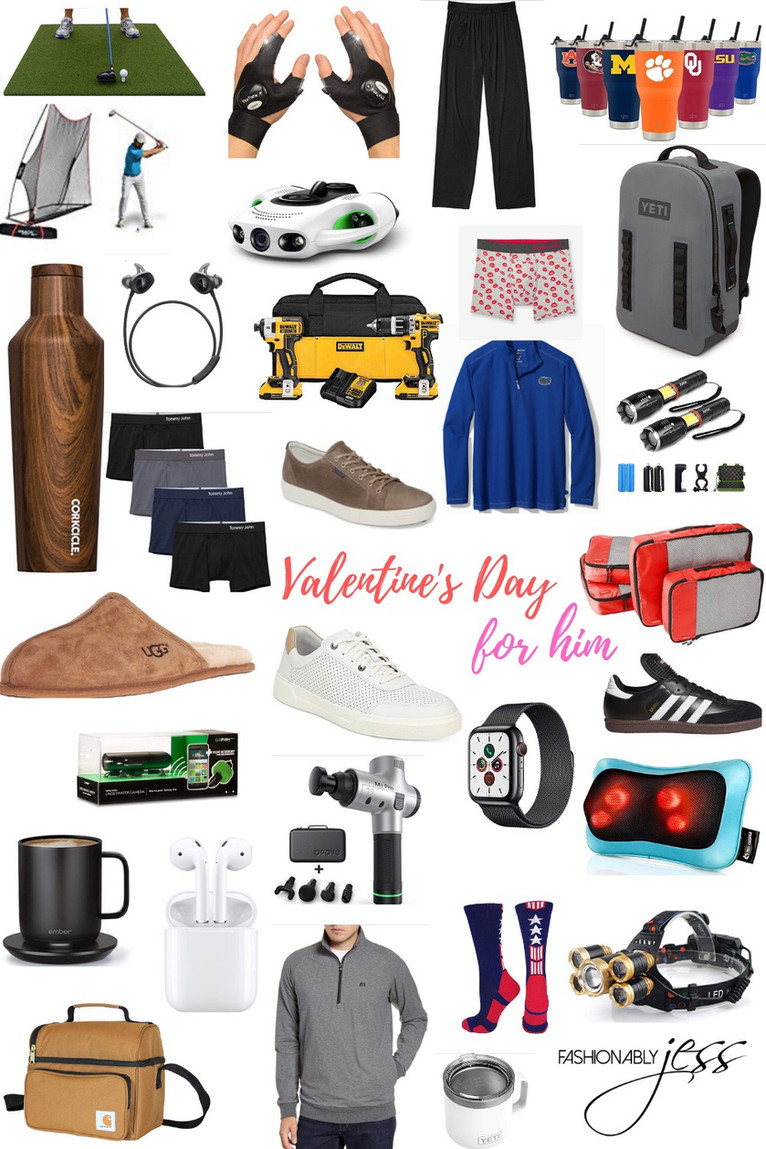 LAST MINUTE VALENTINE'S DAY GIFTS FOR HIM