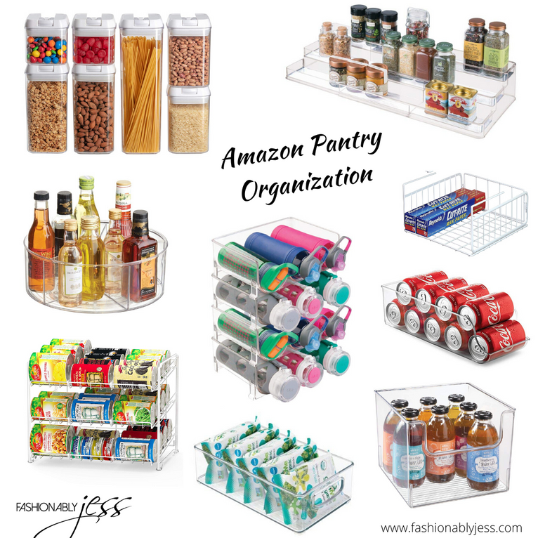 AMAZON PANTRY ORGANIZATION
