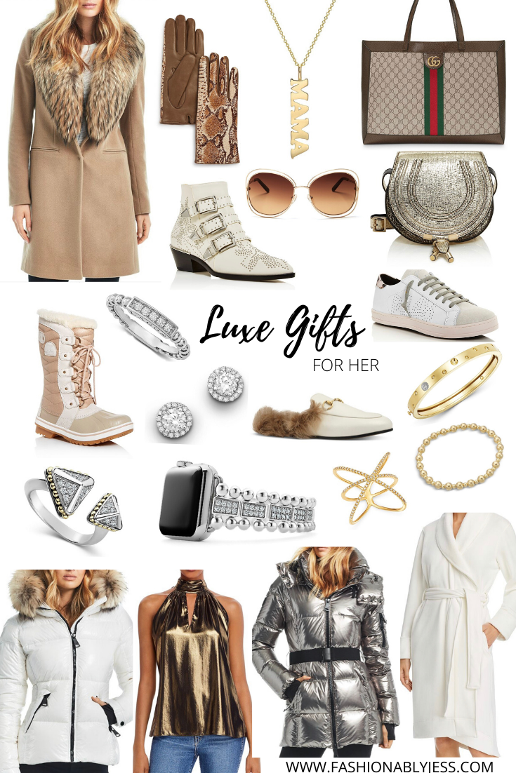 LUXE GIFTS FOR HER AND HIM FROM BLOOMINGDALE'S