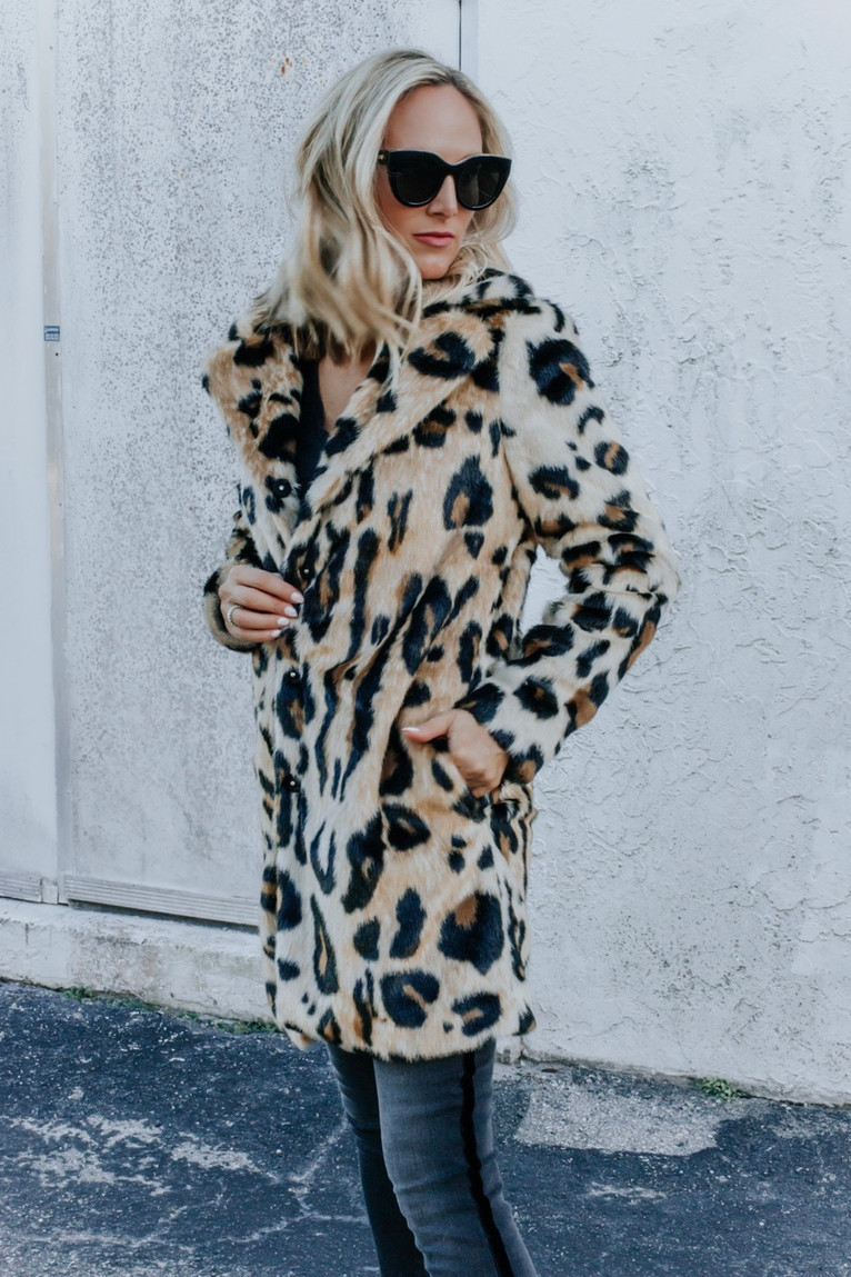 WARMING UP IN VEGAN FUR