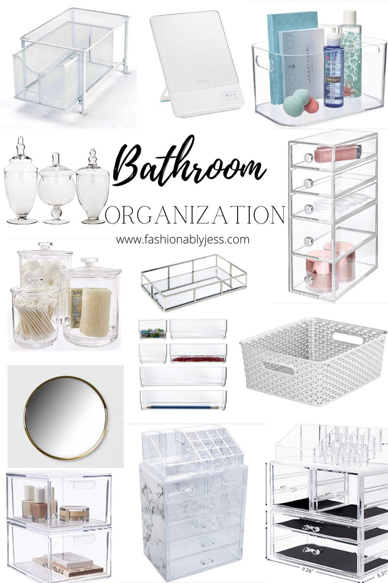 SPRING BATHROOM CLEAN OUT AND ORGANIZATION