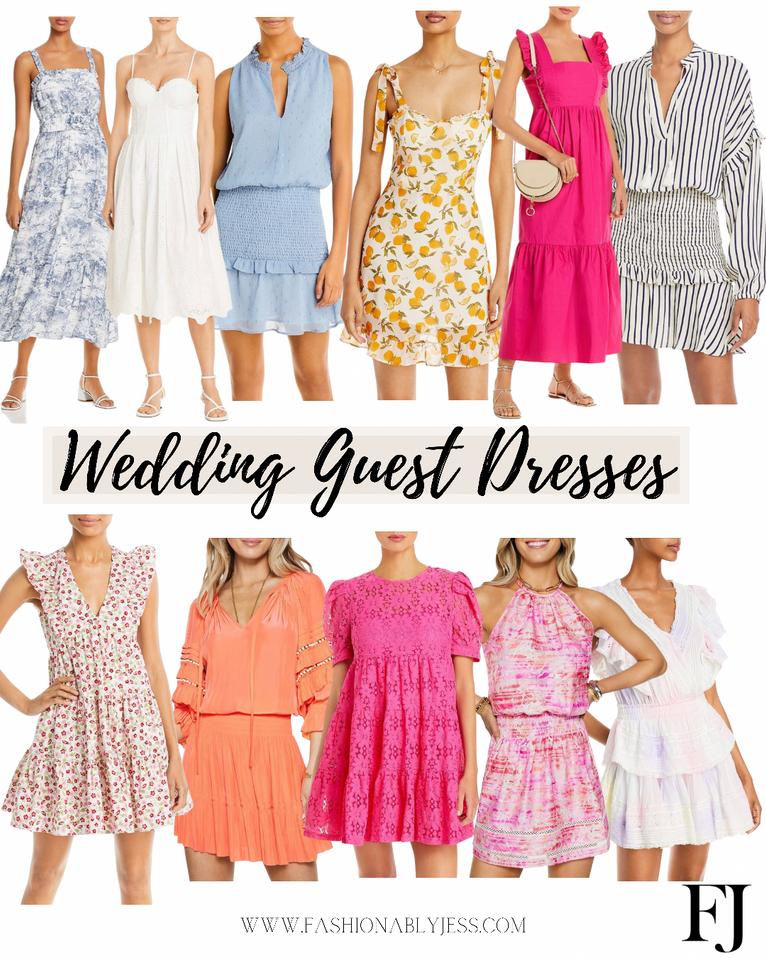 WEDDING GUEST DRESS STYLE PICKS
