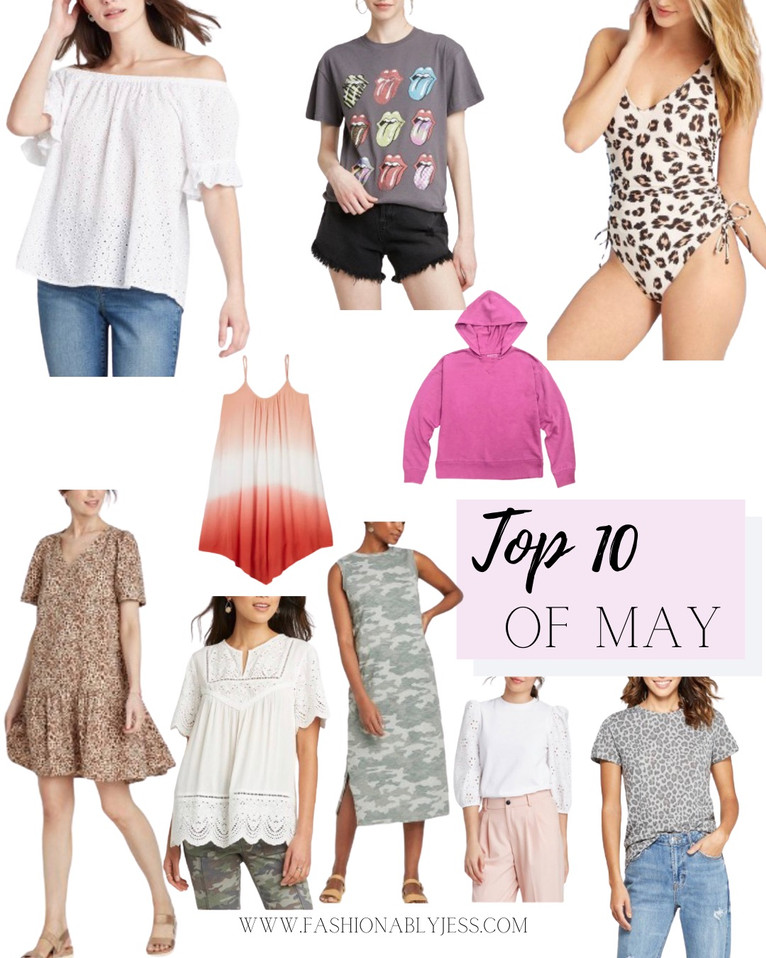 TOP TEN OF MAY