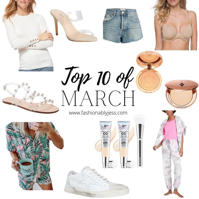 TOP TEN OF MARCH