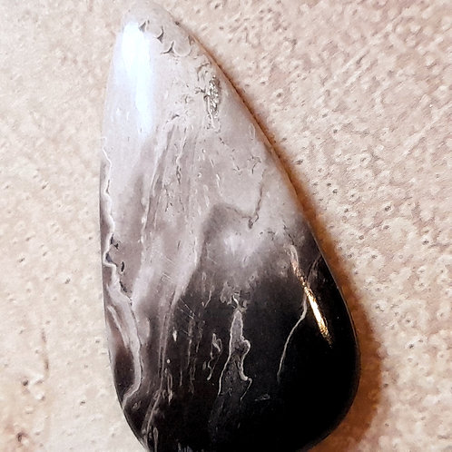 Raindrop Indonesian Palm Root cabochon