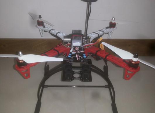 Montagem do Drone DJI F450 com Apm 2.6