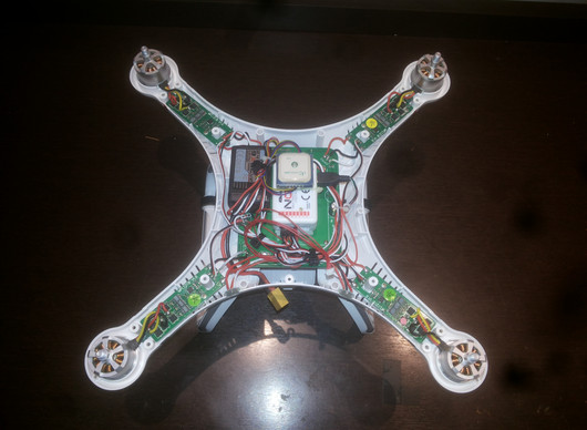Instalação do Rádio Turnigy 9x no Drone Cheerson CX-20