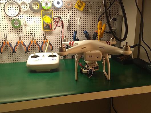 Conserto de Drone DJI Phantom 3 Standard no Tatuapé São Paulo